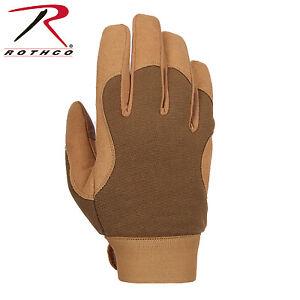 Rothco 4435 Military Mechanics Gloves - Coyote Brown