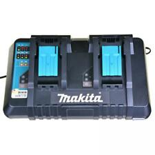 MAKITA caricabatterie doppio per batterie litio 18v DC18RD
