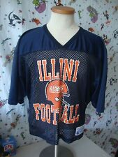 VTG Illinois Fighting Illini Champion Brand Mesh Football Jersey L