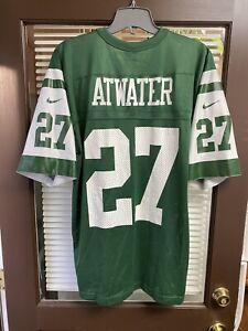 Vintage NIKE New York Jets Steve Atwater #27 NFL Jersey VERY RARE NY Namath Vtg