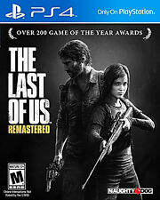 The Last of Us Remastered PlayStation 4 Ps4 Games Full 1080p Higher Resolution