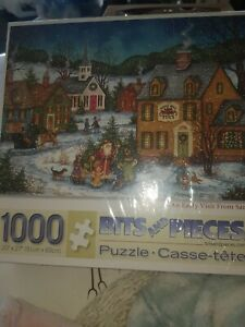 an early visit from santa 1000 puzzle sealed