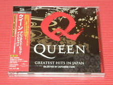 2020 JAPAN SHM CD + DVD  QUEEN GREATEST HITS IN JAPAN SELECTED BY JAPANESE FANS