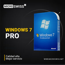 Windows 7 Pro Retail ESD Multi-Idioma - activación para 2 PCs