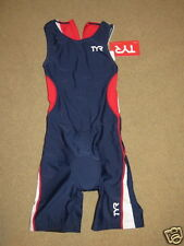 New Tyr Competitor Collection red,white,blue Female TriSuit triathlon female M