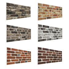 Natural Brick 3D Wall Panel Decorative Wall Ceiling Tiles Cladding Polystyrene