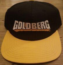 NWTVintage 1990's WCW nWo Bill Goldberg Snapback Deadstock Cap Hat Rap Rare HTF