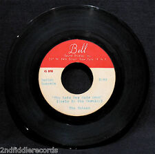 THE TOKENS-Rare Metal Acetate/Pre-Production Pressing 45-She Let's Her Hair Down