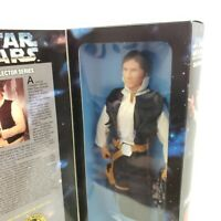 """Han Solo Star Wars Collector Series 12"""" Poseasble Figure Kenner 1996"""
