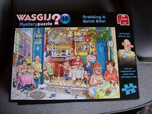 WASGIJ MYSTERY PUZZLE NO 18 GRABBING A QUICK BITE!