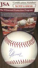 Nico Hoerner Chicago Cubs Autographed Signed Baseball JSA WITNESS COA