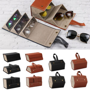 Multi-slot Glasses Organizer Sunglasses Case Eyeglasses Holder Storage Box