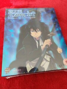 BLUE EXORCIST THE COMPLETE SERIES COLLECTION BLU RAY EP 1-25 BRAND NEW SEALED