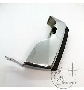 1977-1979 Lincoln Mark V Chrome RR Bumper Guard with Pad (D7LY17984A)