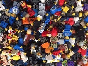 LEGO Minifigures - 10 Random Genuine Lego Mini Figures - Random Selection