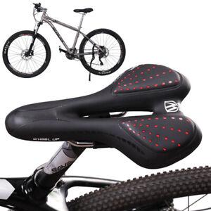 Ergonomische GEL Fahrrad Sattel Fahrradsitz Prostata Herren Damen Unisex e-Bike