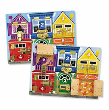 Melissa & Doug Latches Board - ALL NEW!