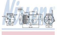 NISSENS Compresor, aire acondicionado OPEL VIVARO RENAULT SC?NIC NISSAN 89435