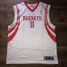 Reebok Authentic Swingman Houston Rockets NBA Jersey Yao Ming #11 Mens Size XL