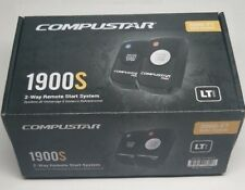 Compustar 1900S , 2-Way Led Remote Start, 2-1 Button, 3000 Ft, Blade Ready, FMX