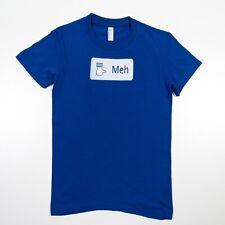 Facebook T-Shirt MEH Status Comment Lightweight Adult Medium Size XS/Small NWOT