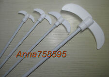 PTFE Coated Steel Stirring Rod Stir Bars Bar , L 250mm XL, W 55mm , D 7mm