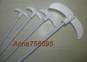 PTFE Coated Steel Stirring Rod Stir Bars Bar , L 250mm L, W 40mm , D 7mm