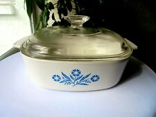 Corning Ware Cornflower 2 Quart Covered Casserole Dish A 2 B