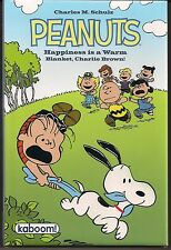 PEANUTS HAPPINESS IS A WARM BLANKET CHARLIE BROWN KABOOM 2011 HARDCOVER GN TP NW