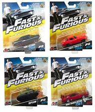 Fast & Furious 4Pk Ford Victoria, Ripsaw, Chevy Corvette, Dodge Charger Daytona