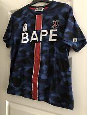 Bape x PSG Tee (Paris Saint Germain T-Shirt) XL