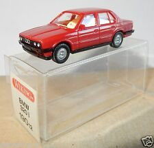 MICRO WIKING HO 1/87 BMW 320 I ROUGE FONCE in box