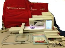 HUSQVARNA-VIKING DESIGNER DIAMOND DELUX SEWING & EMBROIDERY MACHINE FREE SHIP US