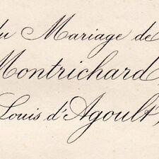 Bathilde De Montrichard 1875 Louis Fouquet D'Agoult