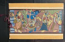 INDIA 1952 SIANT POETS BOOKLET WITH MINT STAMPS IN EXCELLENT CONDITION .