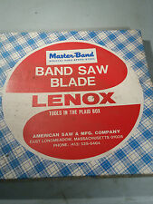 LENOX MASTER BAND HI SPD STEEL BAND SAW BLADE 11' 5