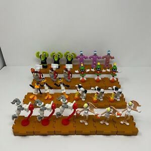 Vtg 1996 Space Jam McDonald's Toy Lot (24) Monstars Bugs Lola Taz Donald etc