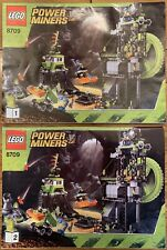 Lego 8709 Both Manual Instructions Set Only - Power Miners - No Bricks. Used