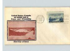 U.S. and Canada, 1948 100 Years Peace & Cooperation, Niagara Falls