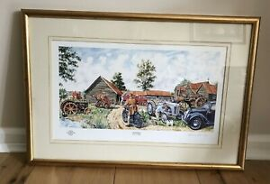 Framed Steven Binks Signed Millennium Print / Picture - Memories