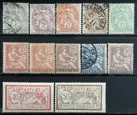 "1902-03> French Post Crete> Inscription""CRETE""> Unused,Used,MNH,Hinged,CV$40.01."