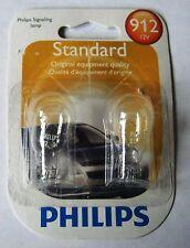 Stop Light Bulb-Standard - Twin Blister Pack 912 PHILIPS 912B2 #106