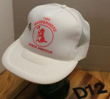 VINTAGE 1990 WANDERMERE SENION AMATEUR GOLF TOURNAMENT HAT SNAPBACK EUC D12