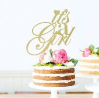 Its a girl Cake Topper Gender Reveal Baby Shower Party Decoration