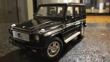 1:18 Mercedes Benz G500 Hot Wheels Diecast Model Car Black Die Cast very rare