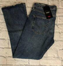 Levi's 501 Premium Original Button-Fly Jeans 34x32 Frayed Hem Big E NWT The Ex