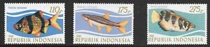 Indonesia (1983)  - Scott # 1207 - 1209,   MNH