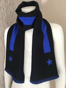 GIVENCHY REVERSIBLE STARS & STRIPE SCARF MADE IN ITALY RETAIL £225