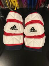 Brand New Size Large Custom Adidas Flex Arm pads Navy/Red/White Msrp $80