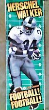 LITTLE CAESARS HERSCHEL WALKER FOOTBALL POSTER
